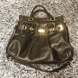 Black Brahmin satchel
